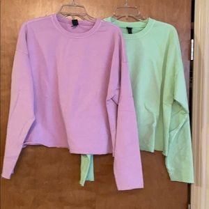 Two Pack Wild Fable Sweatshirt Tees